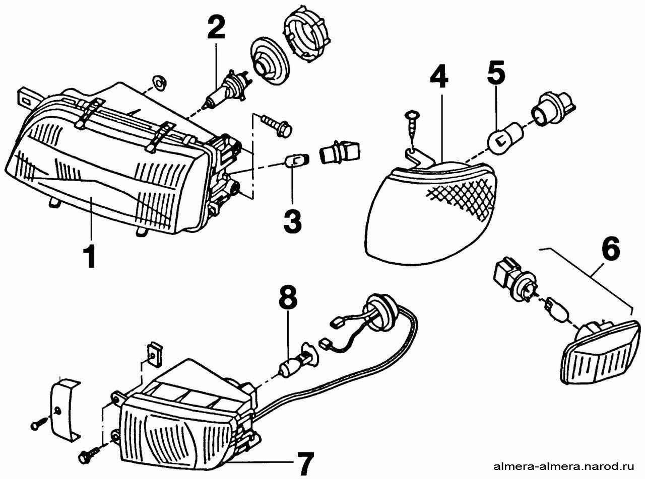 Как отрегулировать фары на ниссан альмера